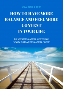 Free e-book - Dr Mari Kovanen, CPsychol