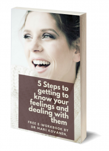 5 steps to getting to know your feelings - FREE e-workbook